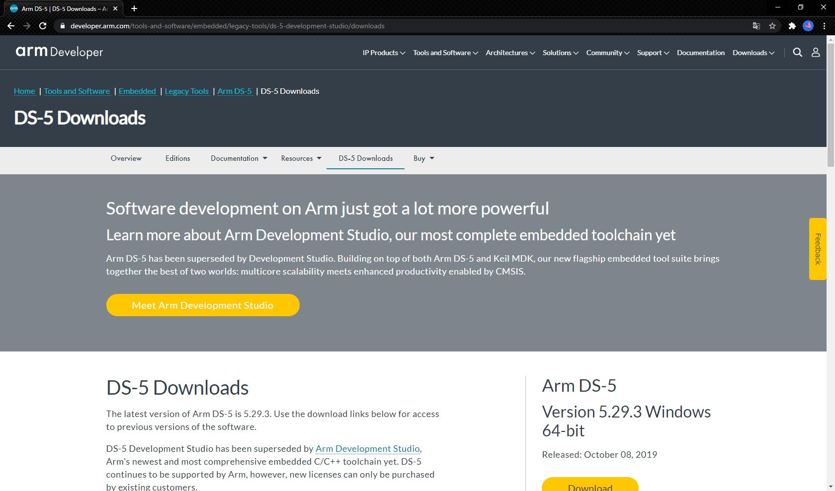 ARMDevelopmentStudio5